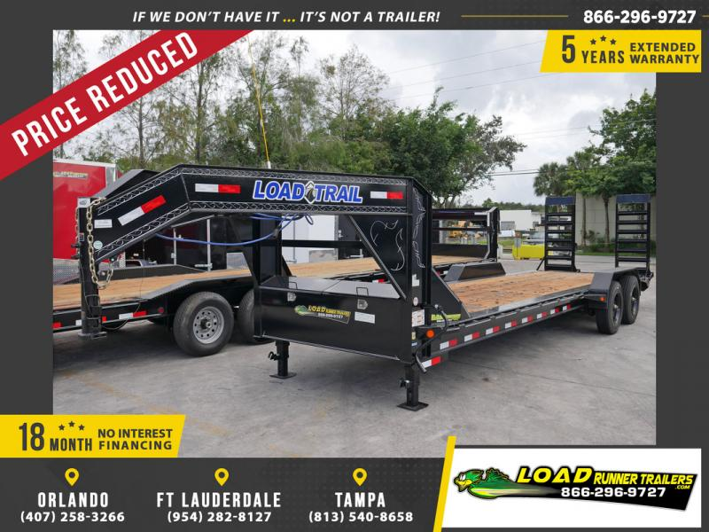 *104884* 7x26 Gooseneck Equipment Trailer |LRT Haulers & Trailers 7 x 26