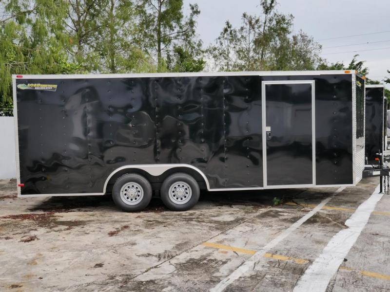 *107337* 8.5x20 Enclosed Cargo Trailer |LRT Tandem Axle Trailers 8.5 x 20