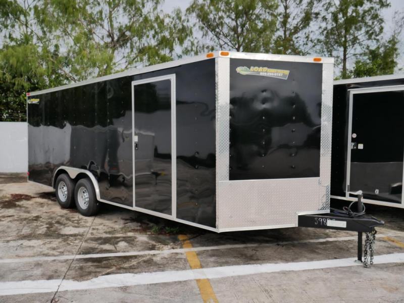 *107337* 8.5x20 Enclosed Cargo Trailer |LRT Tandem Axle Trailers 8.5 x 20 | EV8.5-20T5-R