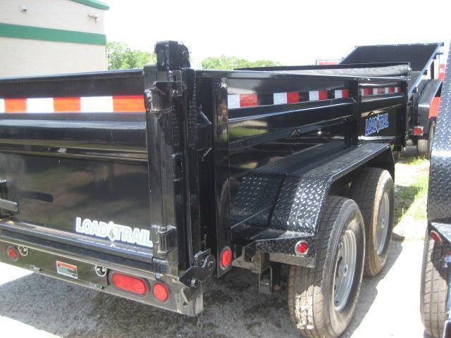 *DB19B* 7x14 14K Tandem Dump Trailer |Load Trail Trailers 7 x 14 | D83-14T7-24S