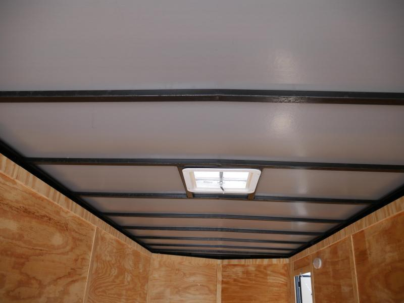 *E21* 7x20 Enclosed Cargo Trailer Tandem Axle Box 7 x 20 | EV7-20T3-R