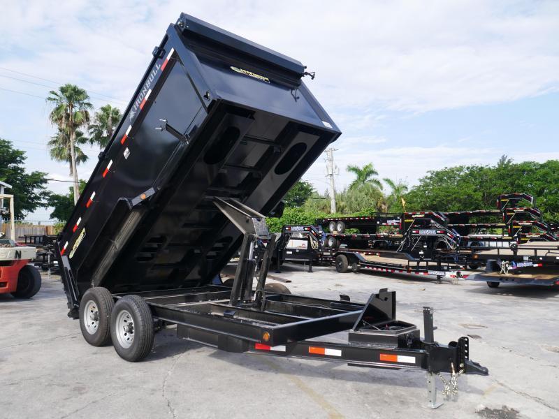 *DB72* 7x14 7 Ton Nortstar Dump Trailer Tandem Axle Trailers 7 x 14 | D83-14T7-48S