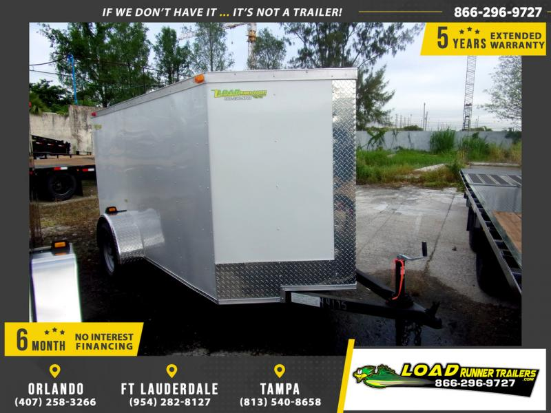 *109452* 5x10 Enclosed Cargo Trailer |LRT Haulers & Trailers 5 x 10