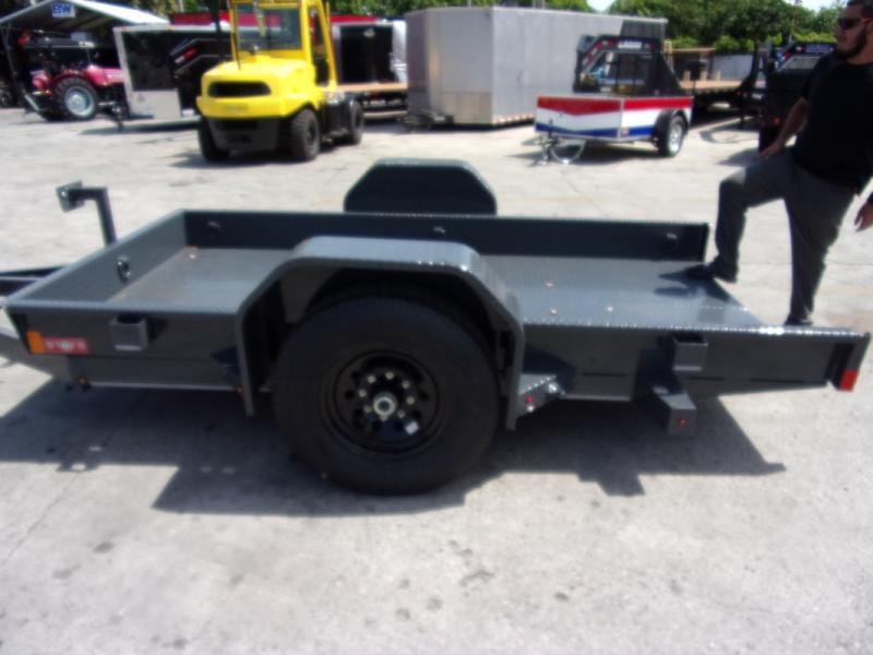 *109277* 5x10 Tilt Deck Trailer  LRT Tandem Axle Trailers 5 x 10