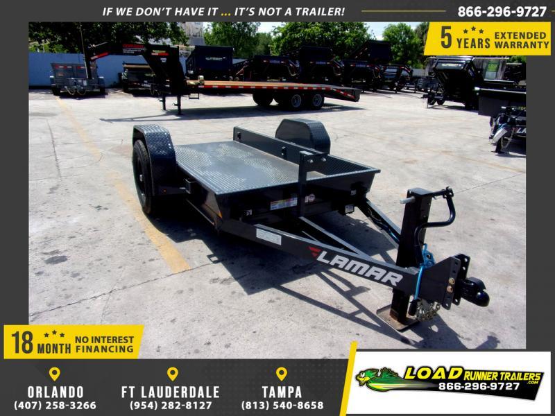 *109277* 5x10 Tilt Deck Trailer |LRT Tandem Axle Trailers 5 x 10