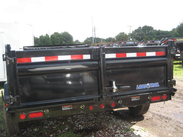 *DB19C* 7x14 Load Trail 14K Trailers Tandem Axle Dump Trailer 7 x 14   D83-14T7-24S