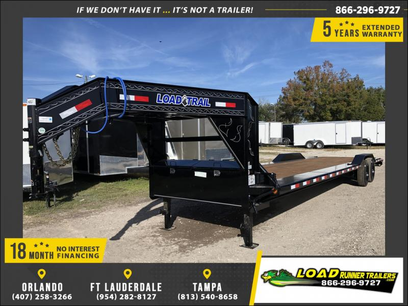 *108131* 8.5x32 HEAVY DUTY Gooseneck 10 TON Car Trailer 8.5 x 32