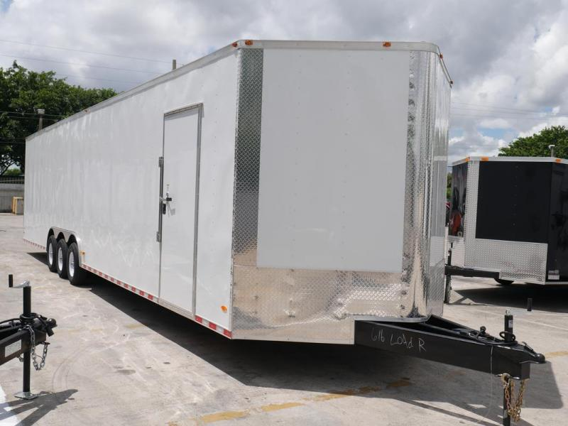 *EV36* 8.5x36 Enclosed Gooseneck Cargo Trailer |21K Car Trailers 8.5 x 36 | EV8.5-36TT5T-R