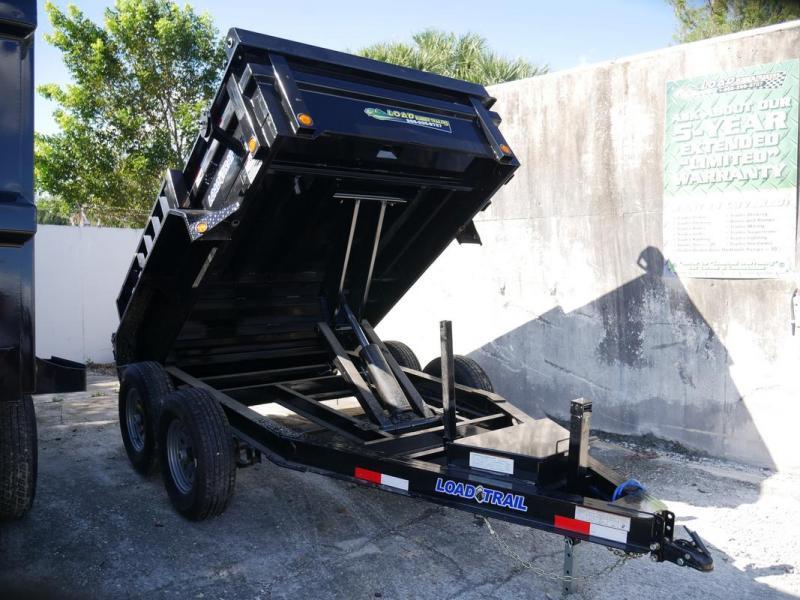 *108085* 6x10 Load Trail Dump Trailer |LRT Tandem Axle Trailers 6 x 10 | D72-10T5-18S