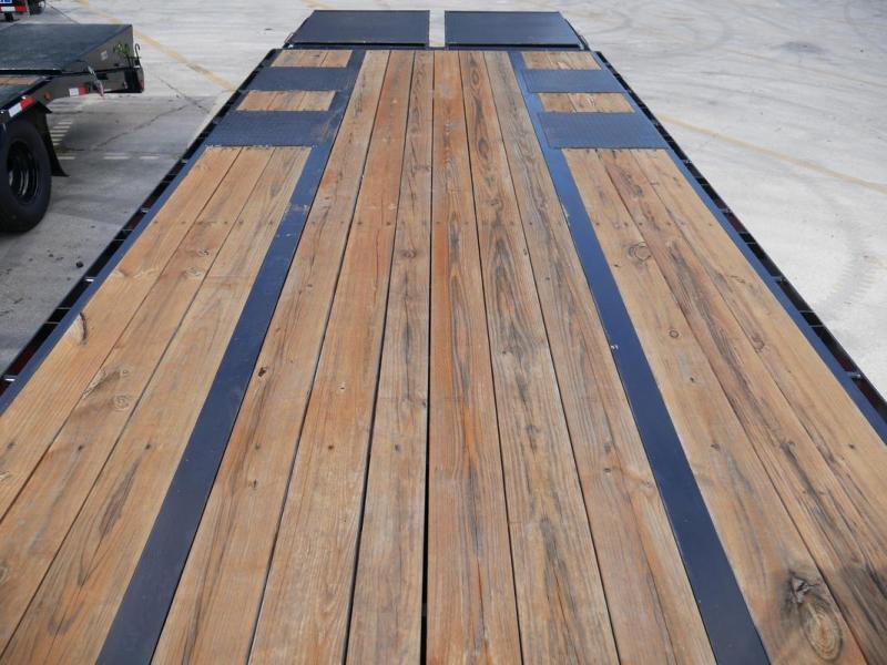 *106312* 8.5x25 Gooseneck Flatbed Deck Over Trailer |LRT Haulers & Trailers 8.5 x 25