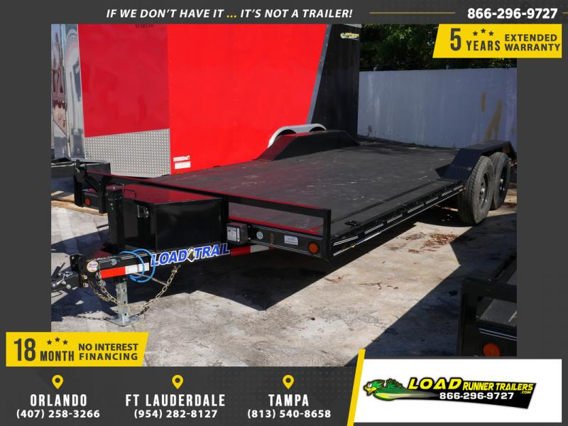 *108106* 8.5x20 Load Trail Car Trailer w/Blackwood Deck |LRT Trailers & Haulers 8.5 x 20