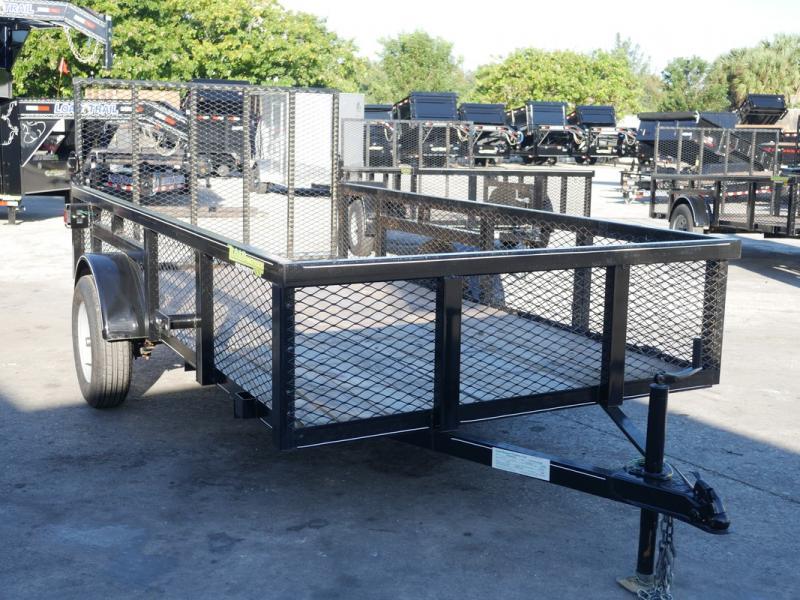 *107280* 6x12 Utility|Lawn|Multipurpose Trailer |LRT Trailers| 2' Mesh Sides 6 x 12
