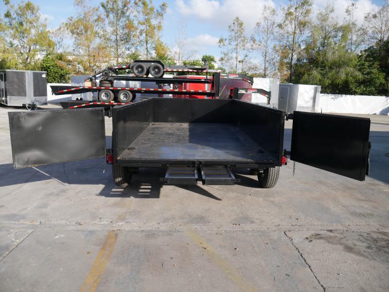 *108302* 7x14 7 TON Dump Trailer  LRT Tandem Axle Trailers 7 x 14