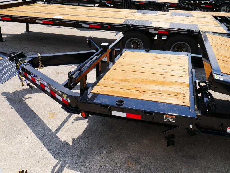 *T21* 7x20 8 TON Tilt Equipment Hauler Trailer |LR Trailers 7 x 20 | T83-16+4T8T-GT