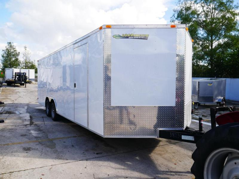 *106609* 8.5x24 Enclosed Cargo Trailer | Tandem Axle Car Trailers 8.5 x 24 | EV8.5-24T3-R