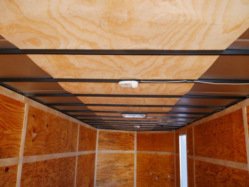*106609* 8.5x24 Enclosed Cargo Trailer | Tandem Axle Car Trailers 8.5 x 24 | EV8.5-24T3-R