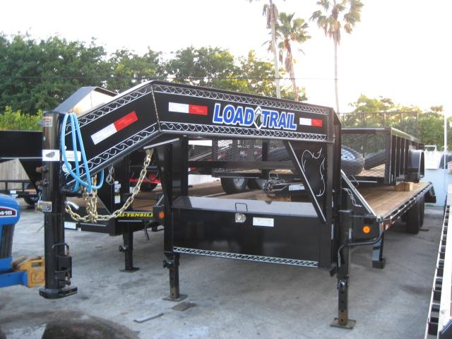 *FG49* 8.5x30 Gooseneck Flatbed Trailer |7 TON Deck Over Trailers 8.5 x 30 | FG102-30T7-MPD