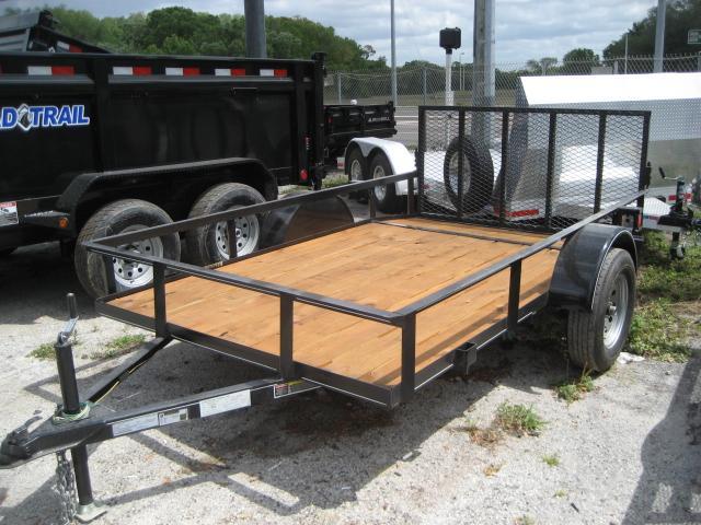 *U15* 6x10 Utility Lawn ATV Trailer W/ 3500 lb Axle 6 x 10 | U72-10S3-AR