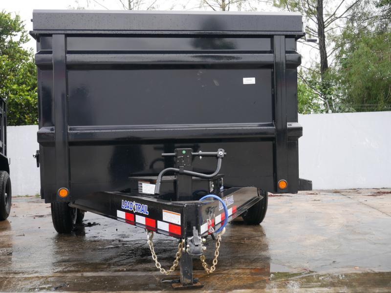 *108032* 7x14 Dump Trailer  LRT Tandem Axle Trailers 7 x 14