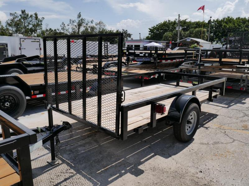 *107450* 6x12 Utility|Lawn|ATV|Multipurpose Trailer |LRT Haulers & Trailers 6 x 12 | U72-12S3-TR