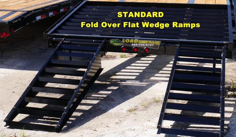*FG49* 8.5x30 Gooseneck Flatbed Trailer  7 TON Deck Over Trailers 8.5 x 30   FG102-30T7-FF