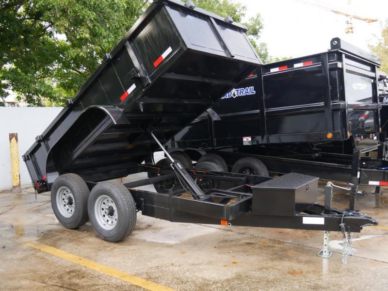 *108303* 6x12 Dump Trailer |LRT Tandem Axle Trailers 6 x 12