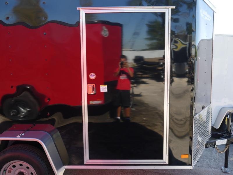 *E3E* 6x10 Enclosed Trailer | Cargo Trailers W/ Ramp 6 x 10 | EV6-10S3-R