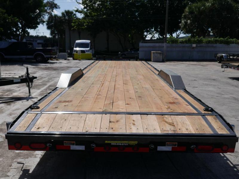 *107586* 8.5x36 36' Bumper Pull Load Trail Car Trailer |LRT Tandem Axle Trailers 8.5 x 36
