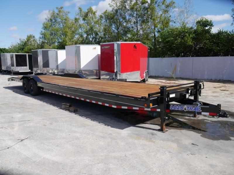 *107586* 8.5x36 36' Bumper Pull Load Trail Car Trailer |LRT Tandem Axle Trailers 8.5 x 36
