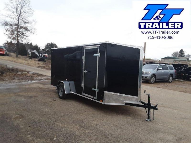 2020 Discovery Rover ET 6 x 14 V-Nose Enclosed Cargo Trailer