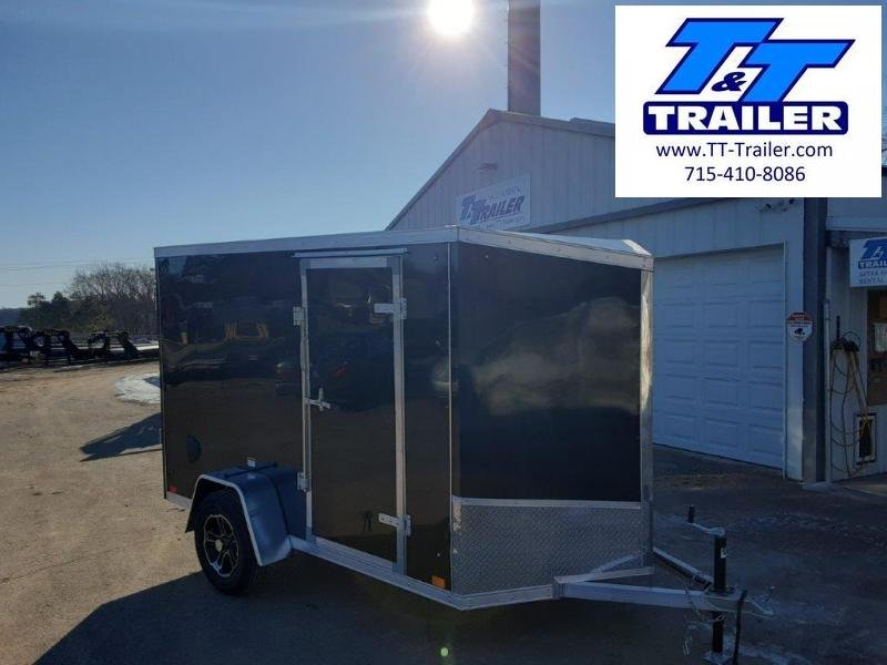 2020 Discovery Endeavor Aluminum 6 x 10 V-Nose Enclosed Cargo Trailer