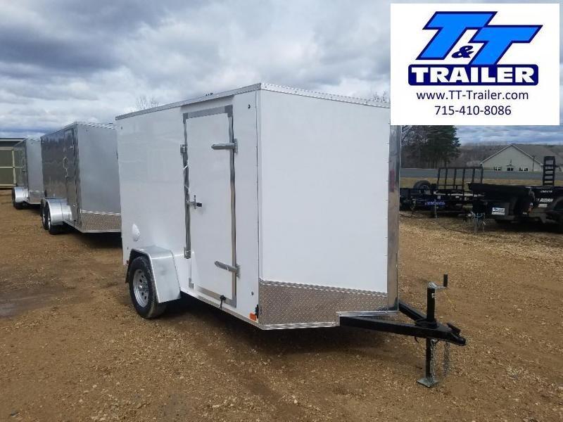 FOR RENT - 6 x 10 V-Nose Enclosed Cargo Trailer
