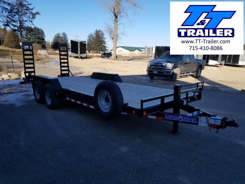 83 x 22 Car and Equipment Trailer w/ Mega Ramps
