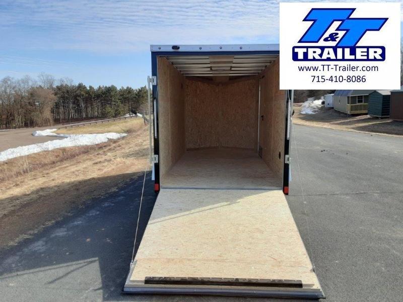 2020 Discovery Endeavor Aluminum 6 x 12 V-Nose Enclosed Cargo Trailer