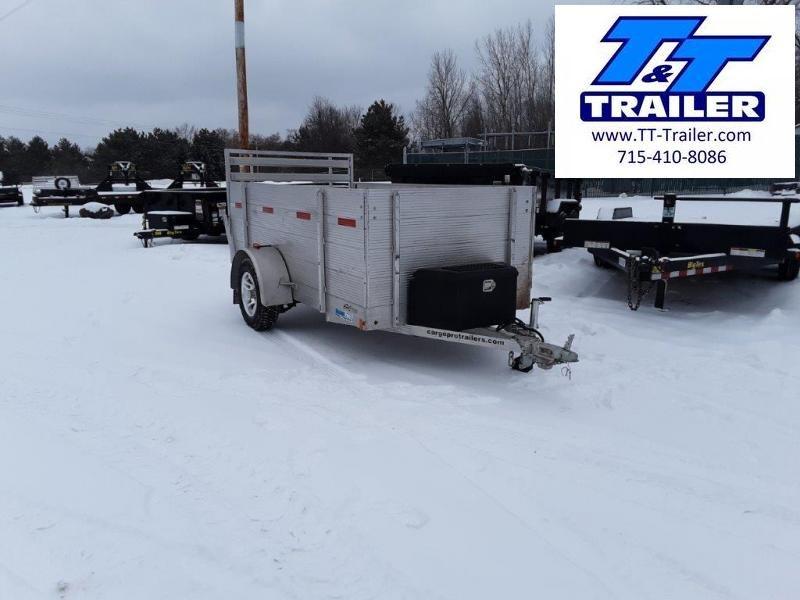 Used 2017 Cargo Pro 5 x 10 Aluminum Utility Trailer