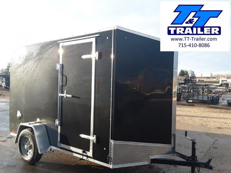 2020 Discovery Rover ET 6 x 10 V-Nose Enclosed Cargo Trailer