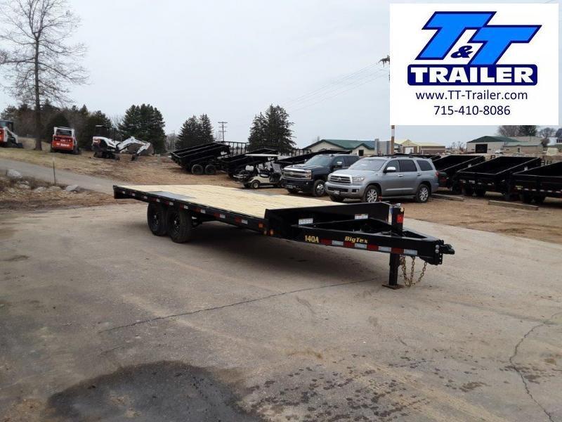 "2020 Big Tex 14OA 102"" x 22' Heavy Duty Deckover Bumper Pull Trailer"