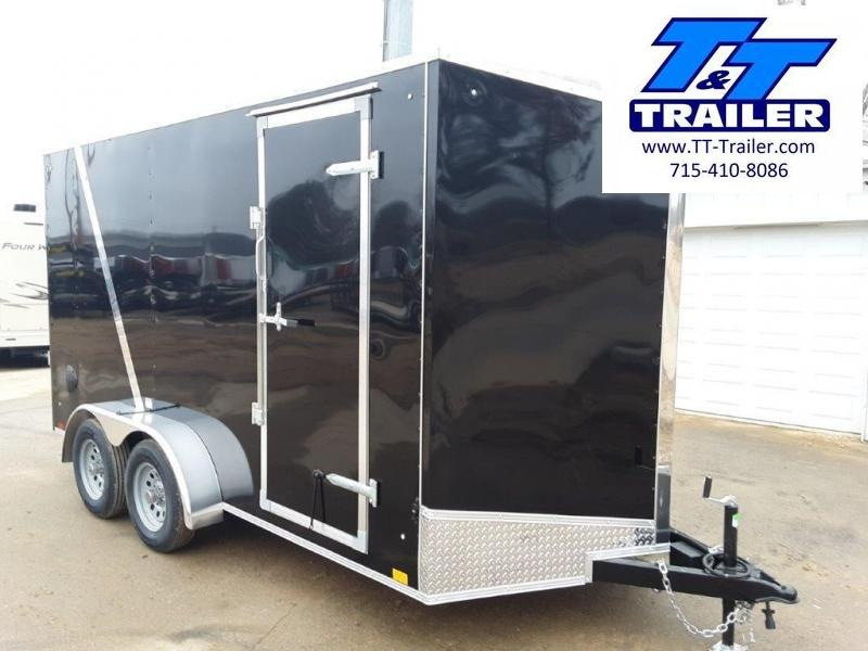 2020 Discovery Rover ET 7 x 14 V-Nose Enclosed Cargo Trailer