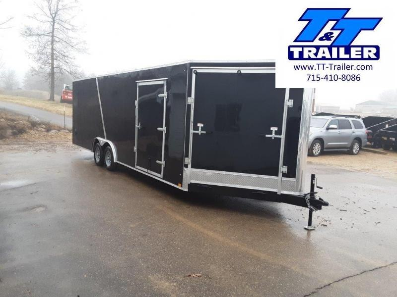 2020 Discovery Challenger ET 8.5 x 24 V-Nose Enclosed Combination Car and Toy Hauler Trailer