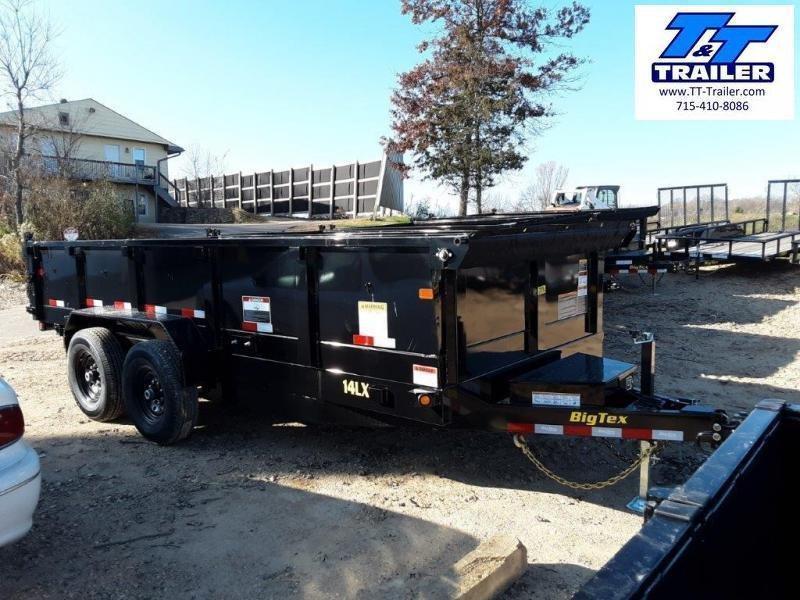 2021 Big Tex 14LX Heavy Duty Extra Wide Dump Trailer