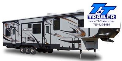 FOR RENT - 2014 Heartland Cyclone 3800 5th Wheel Toy Hauler