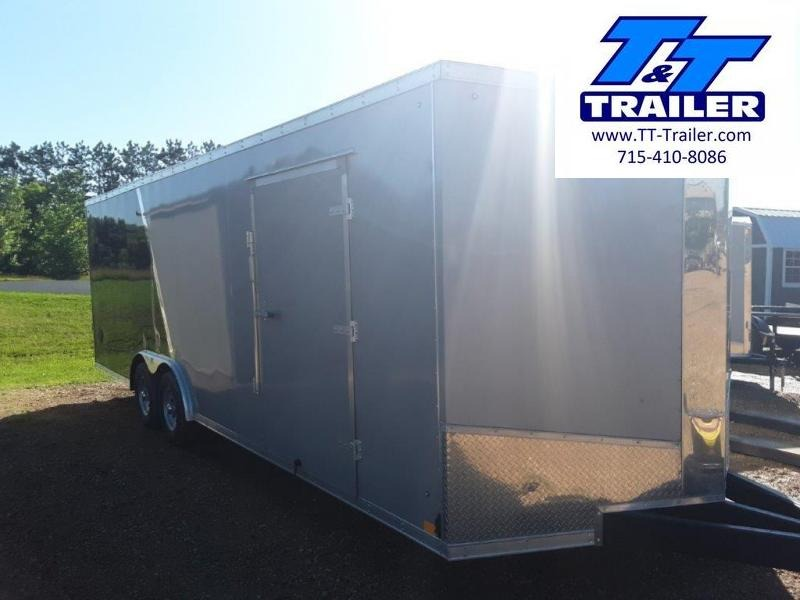 8.5 x 24 V-Nose Enclosed Cargo Trailer