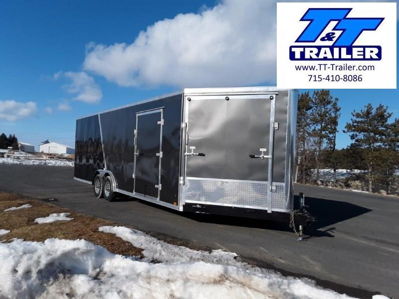 2020 Discovery Challenger SE 8.5 x 24 V-Nose Enclosed Combination Car and Toy Hauler Trailer