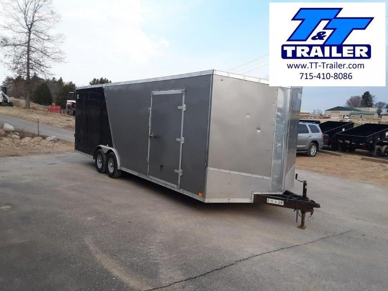 2020 Discovery Challenger SE 8.5 x 24 V-Nose Enclosed Cargo Trailer