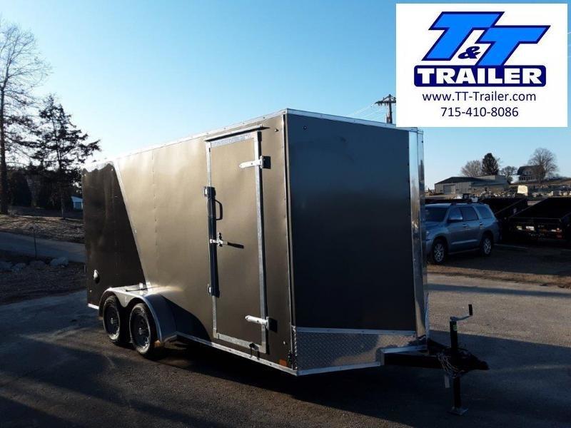 2020 Discovery Rover ET 7 x 16 V-Nose Enclosed Cargo Trailer