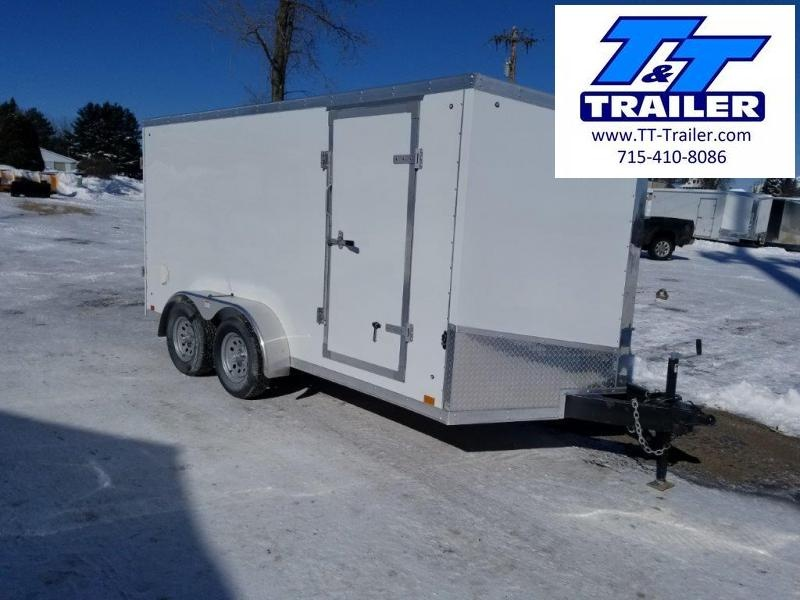 7 x 14 V-Nose Enclosed Cargo Trailer