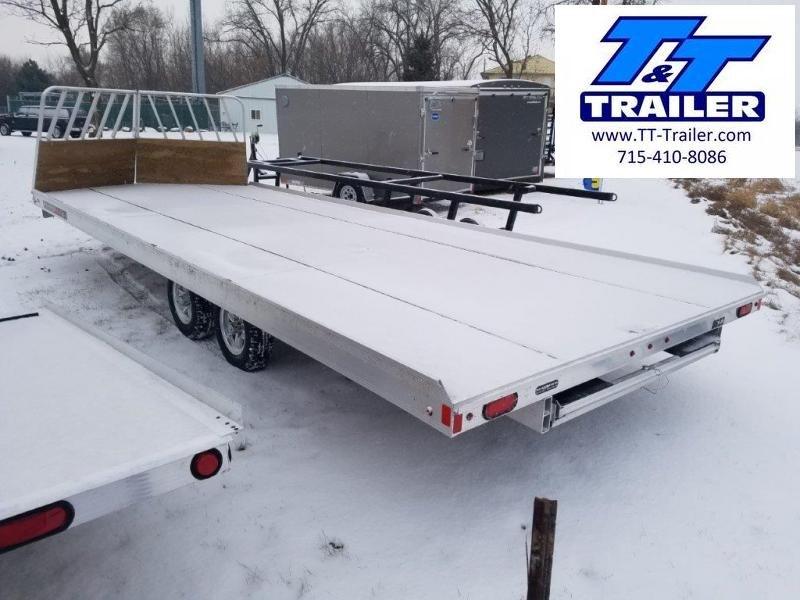 8.5 x 22 4 Place Open Snowmobile Trailer
