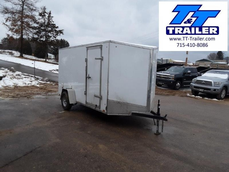 2020 Discovery Rover ET 6 x 12 V-Nose Enclosed Cargo Trailer