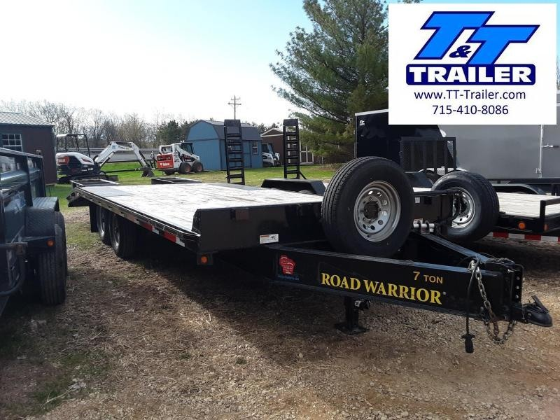 102 x 22 Deckover Equipment Trailer w/ Ramps