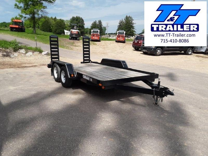 "2009 Felling Trailer 78"" x 14' - Model LE142 Equipment Trailer"